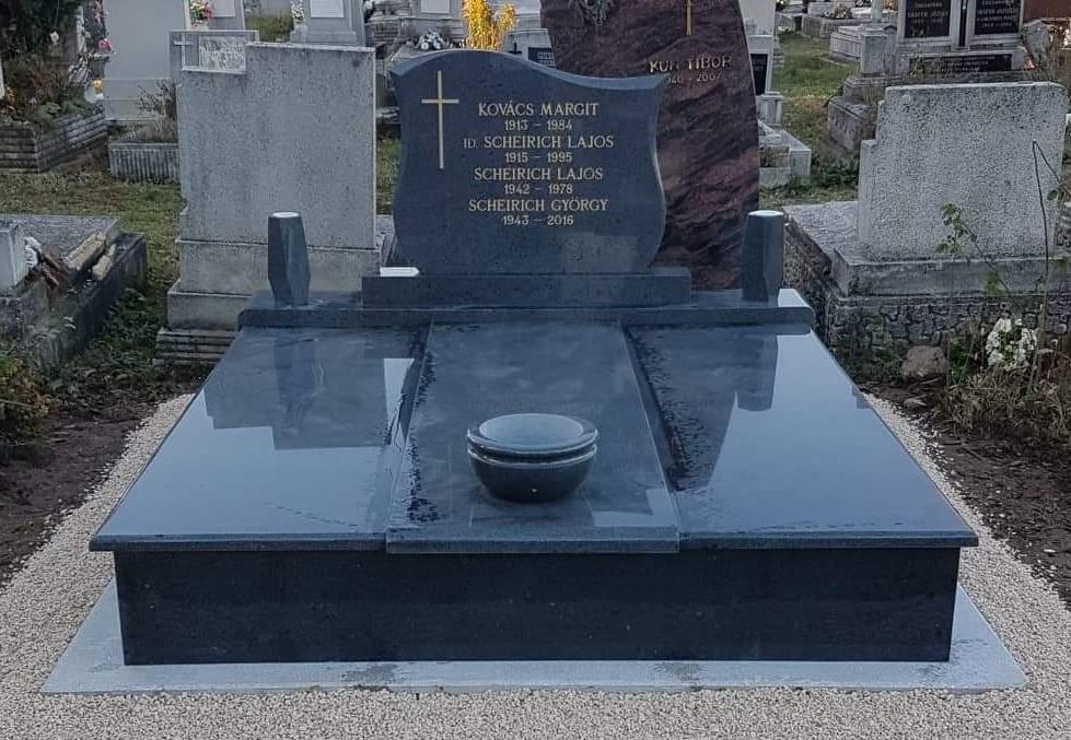 Kobra dupla gránit síremlék akciós ár 600.000 Ft