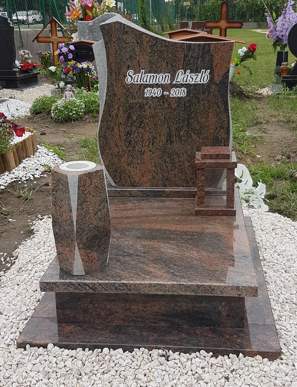 Multicolor gránit urnás síremlék akciós ár 185.000 Ft