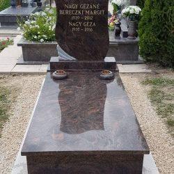 Aurora szimpla gránit síremlék akciós ár 520.000 Ft