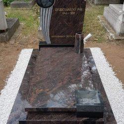 Aurora szimpla gránit síremlék akciós ár 950.000 Ft