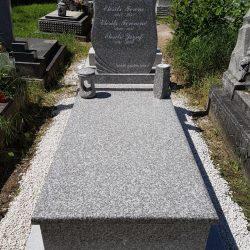 Brown star szimpla gránit síremlék akciós ár 285.000 Ft
