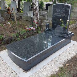 Impala szimpla gránit síremlék akciós ár 450.000 Ft