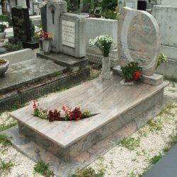 Juparana szimpla gránit síremlék akciós ár 455.000 Ft