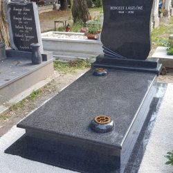 Kobra szimpla gránit síremlék akciós ár 330.000 Ft