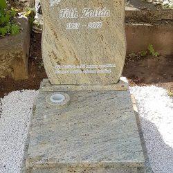 Madura gold gránit urnás síremlék akciós ár 220.000 Ft