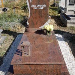 Multicolor szimpla gránit síremlék akciós ár 420.000 Ft