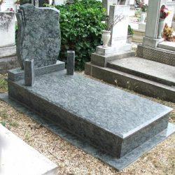 Olive green szimpla gránit síremlék akciós ár 500.000 Ft