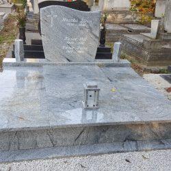 Viscount white dupla gránit síremlék akciós ár 880.000 Ft