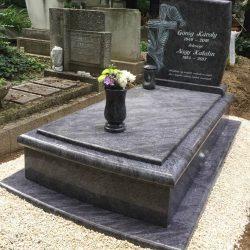Vizag blue szimpla gránit síremlék akciós ár 950.000 Ft