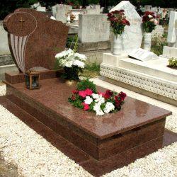Wanga szimpla gránit síremlék akciós ár 650.000 Ft