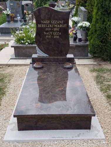 Szimpla sírkövek 600 - 800 ezer forint közötti áron